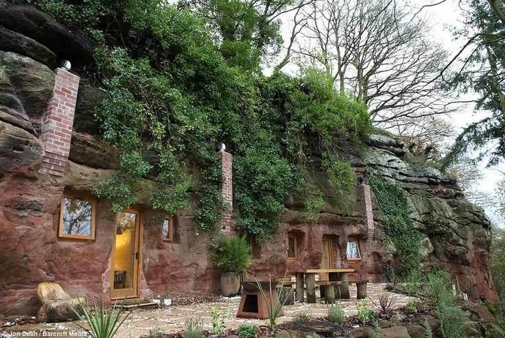 Man turned 250-million-year-old cave into modern home