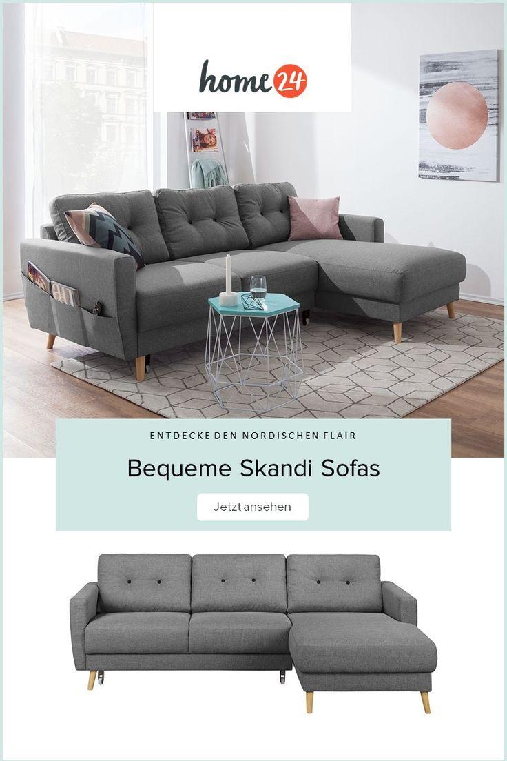 Bequeme Sofas im Skandi Look