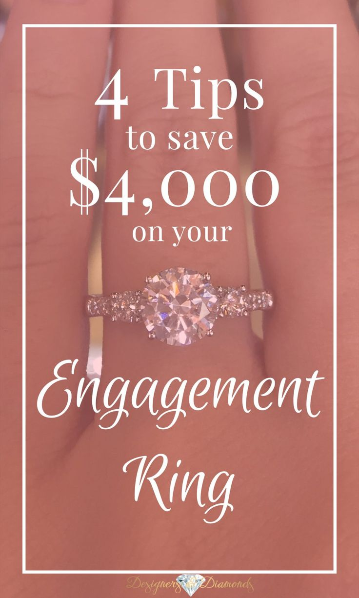 If you use the 4 C's to your advantage, you can save thousands on every aspect of your diamond's grade - and beautiful appearance!