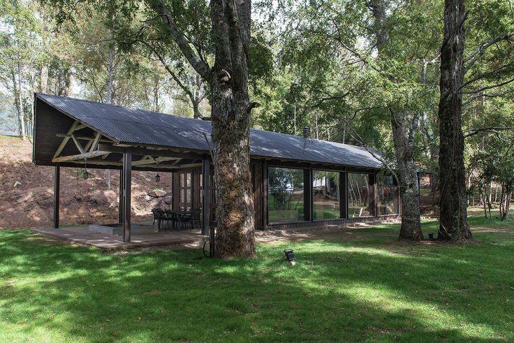 Gallery - Barn House at Lake Ranco / Estudio Valdés Arquitectos - 3