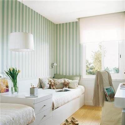 17 mejores ideas sobre habitaciones largas y estrechas en - Disenar habitacion juvenil ...