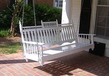 Wicker Porch Swings On Sale | Victorian Porch Swing