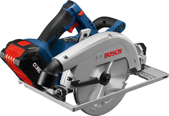 Here S A Glimpse At The New Bosch 18v Strong Arm Brushless Circular Saw Bosch Bosch Circular Saw Bosch Tools