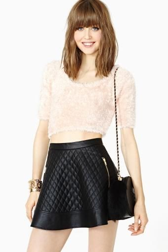 Nasty Gal Soft Touch Crop Top