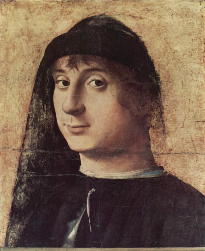 Antonello da Messina, Portrait of a Man, 1470