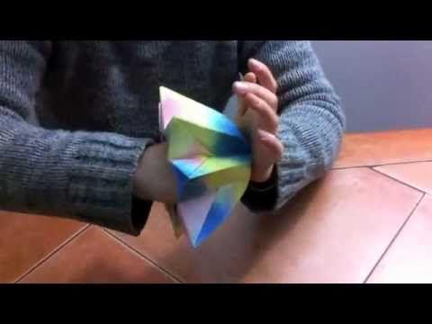 Flor gigante facil para decorar fiestas. Giant easy paper flower - YouTube