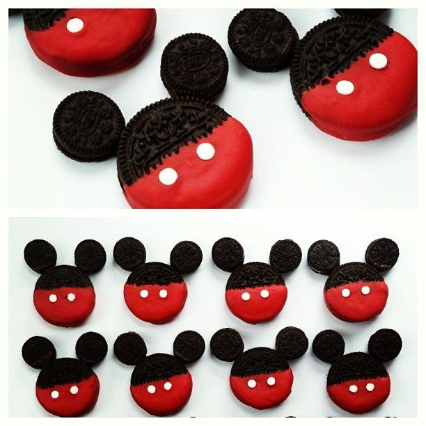 how to make minnie mouse out of rice crispys