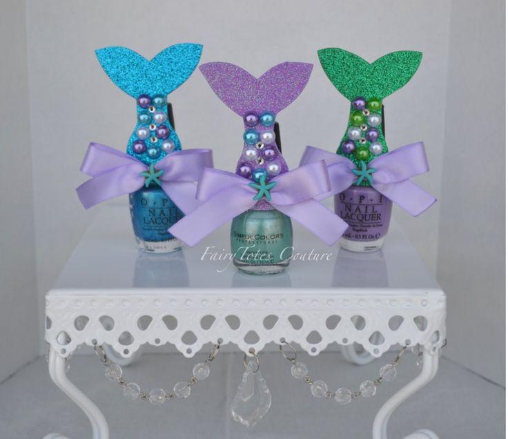 Wedding Favor Ideas Little Mermaid: Best 25+ Nail Polish Favors Ideas On Pinterest