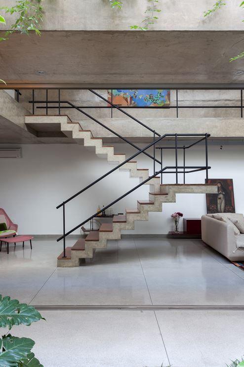 Casa Jardins - Picture gallery #architecture #interiordesign #staircases