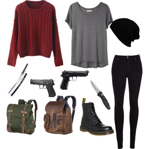 original zombie apocalypse girl outfit 14