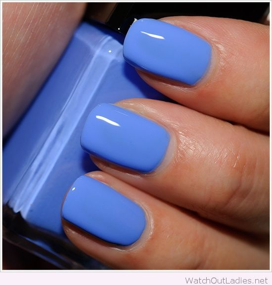 Blue Nail Polish One Finger: 17 Best Ideas About Light Blue Nail Polish On Pinterest