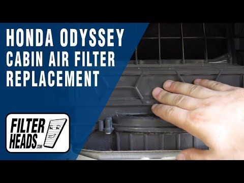 How To Replace Cabin Air Filter 2010 Honda Odyssey