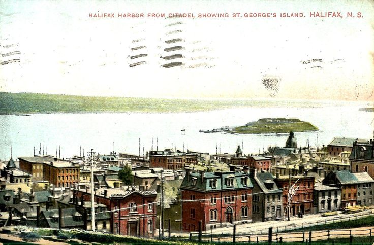 Halifax Nova Scotia ST George'S Island Antique Postcard | eBay