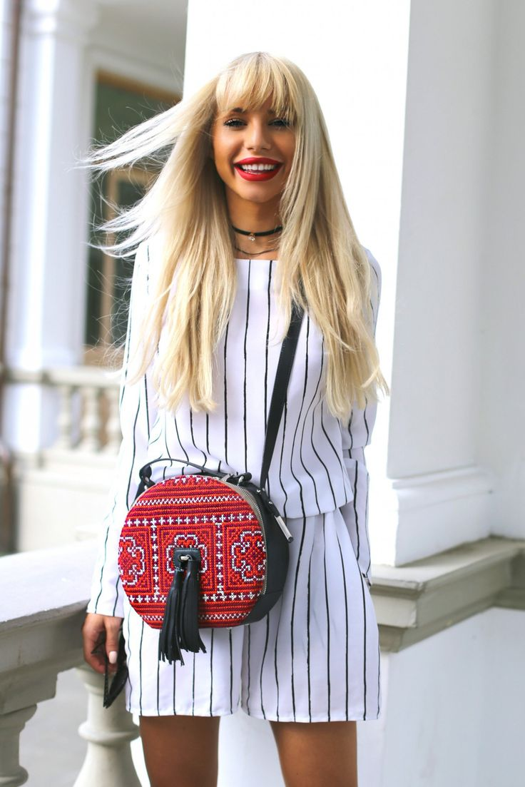 Carmen Grebenisan and our round Sunrise bag