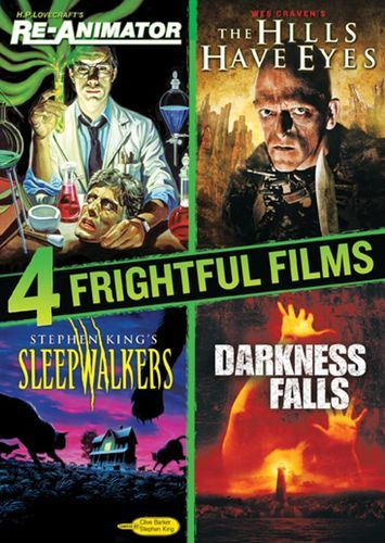 4 Frightful Films: Re-Animator/The Hills Have Eyes/Sleepwalkers/Darkness Falls [4 Discs] [DVD]