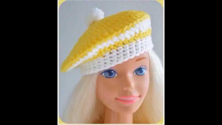 "Custom Crochet Dress, Jacket, Hat/My Size Barbie Doll (36""/38""tall) ~ Ma..."