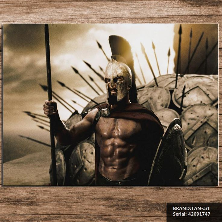 Hero of Sparta Movie Modern oil Painting Drawing art Spray Unframed Canvas wax miniature technical airbrush wall hand42091747