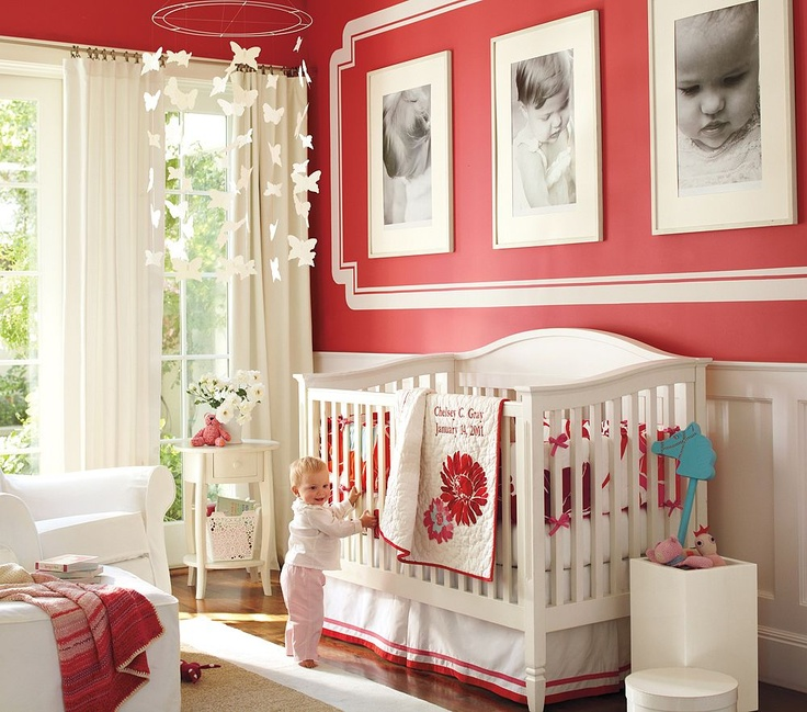 Baby: Wall Colors, Idea, Frames, Pictures, Baby Girls, Baby Rooms, Photo, Girls Nurseries, Girls Rooms
