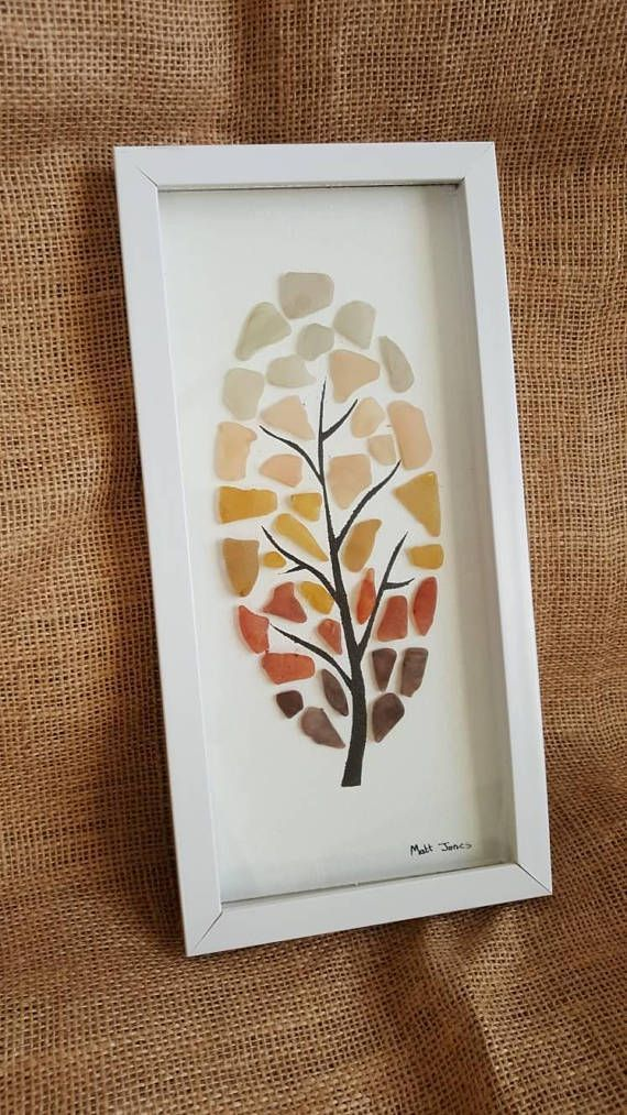 Check out this item in my Etsy shop https://www.etsy.com/uk/listing/562435234/painted-sea-glass-tree-made-with-genuine #seaglassart