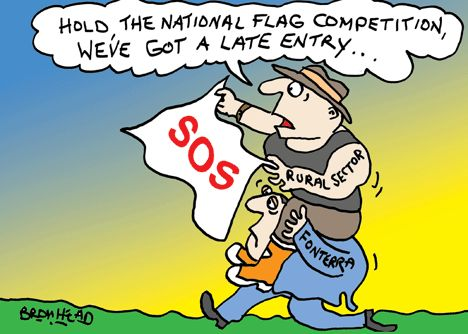 Cartoon: Flag competition - Opinion - NZ Herald News