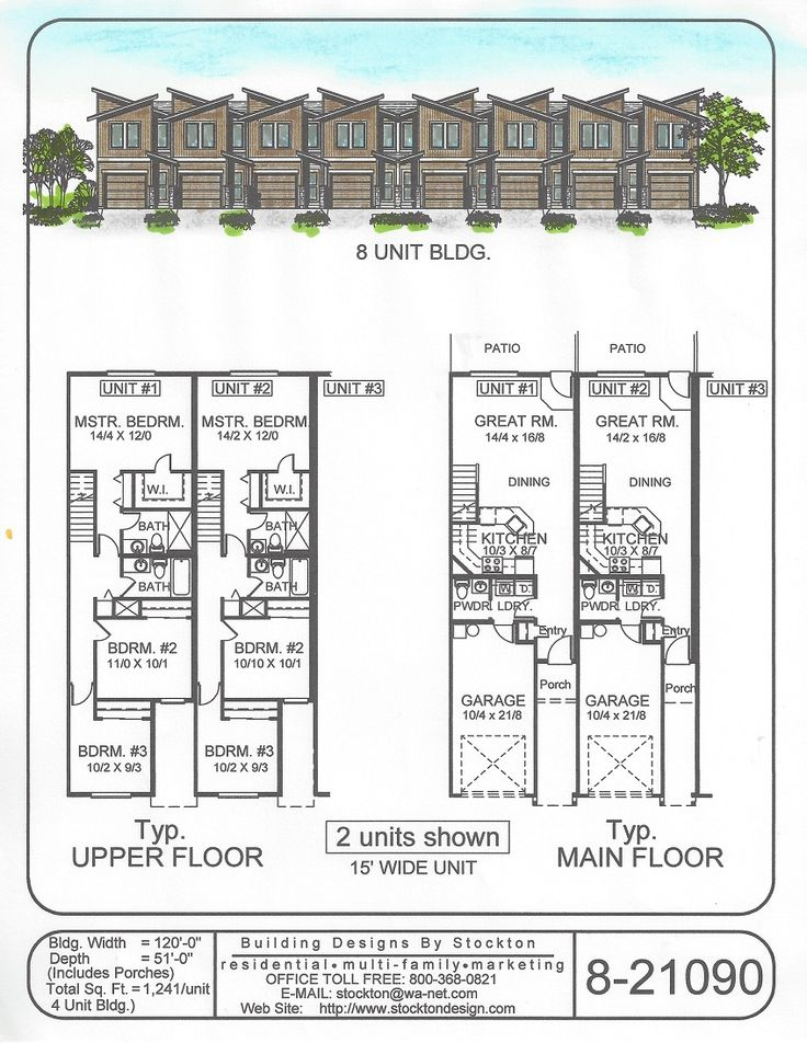 18 Best Multi Family Designs Images On Pinterest Apartment Plans Apartment Plants And House