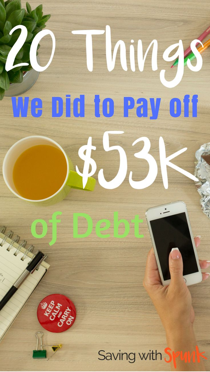 Really useful tips to help pay off debt.
