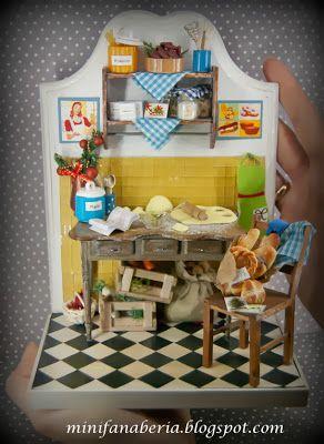 Kuchnia vintage 1:12