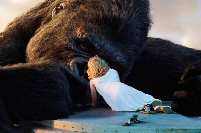 King Kong - 2005 - Can't watch it without crying ! To think an animal would give up his life for her like no man would , so well acted by Naomi Watts , blows all other King Kong movies away