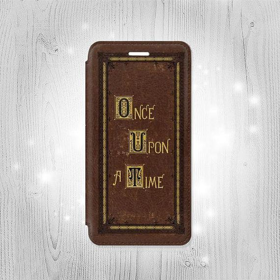 Once Upon a Time Book Cover iPhone 6S 6 Plus 6 SE 5 by Lantadesign