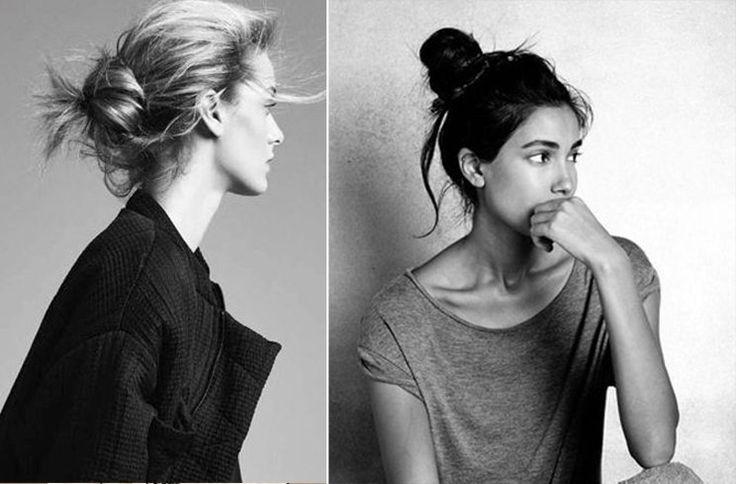 Top knot Hair Buns Trend