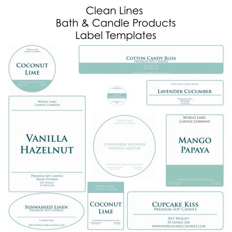 Free Soap Labels & Candle Labels Biz Starter Kit, but you can use for ...