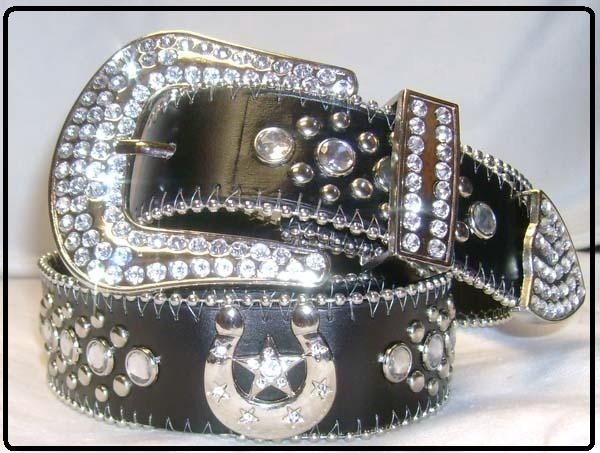 Bling Cowgirl Belt