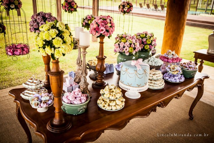 Casamento - Inspirações de decorações para diferentes tipos de festas
