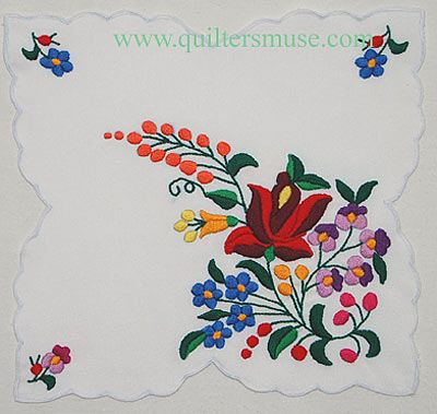 Kalocsa+embroidery