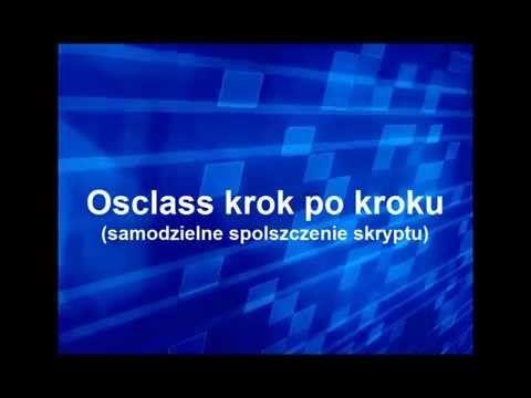 Osclass - samodzielna modyfikacja pliku języka polskiego