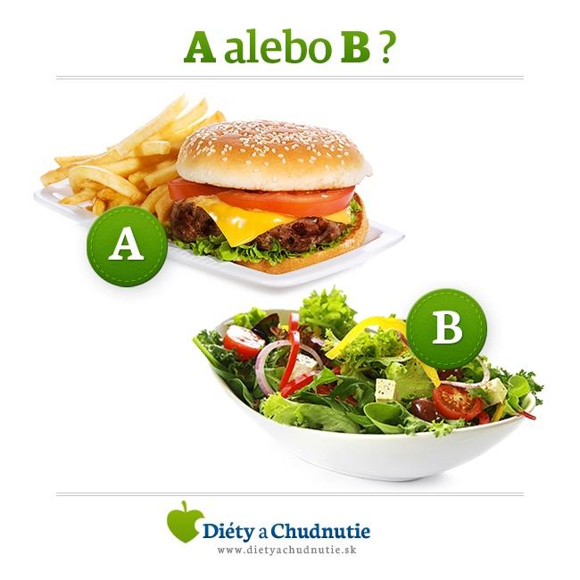 Burger alebo šalát?