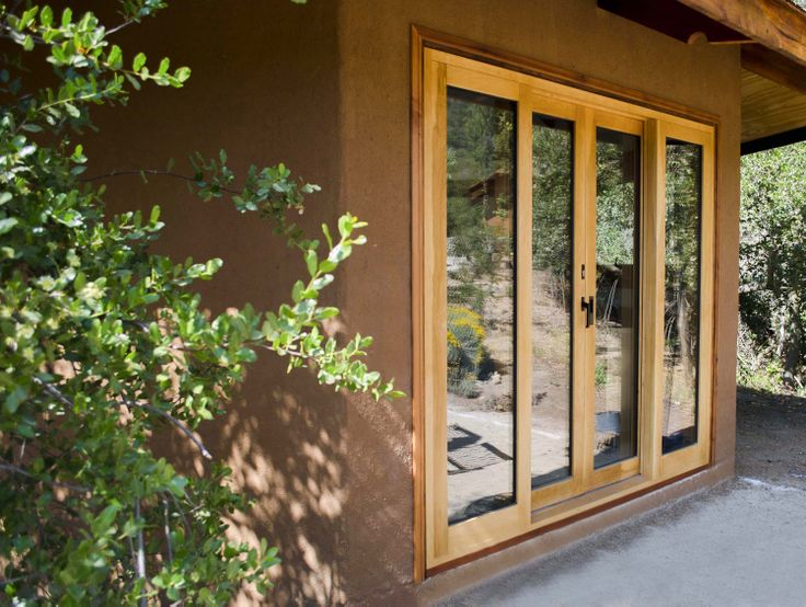 Ventana en madera de Lenga con tecnología europea Wood window with high technology   www.ignisterra.com