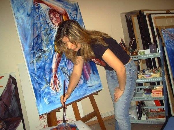 Artist Kırlangıç MARTİN ( Aysun UĞURLAR SAY) Artroom. Atoly. Art Studio