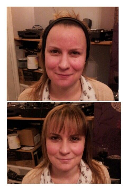 Before & after s motives makeover. Nice & natural but great coverage from the liquid mineral powder foundation. £20.25 Www.beauty-barrowford.com 'Shop now'