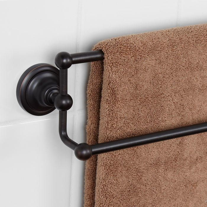 "25"" Holliston Collection Double Towel Bar -"