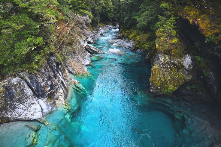 The Blue River