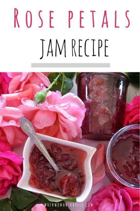 Bulgarian Rose petals jam recipe