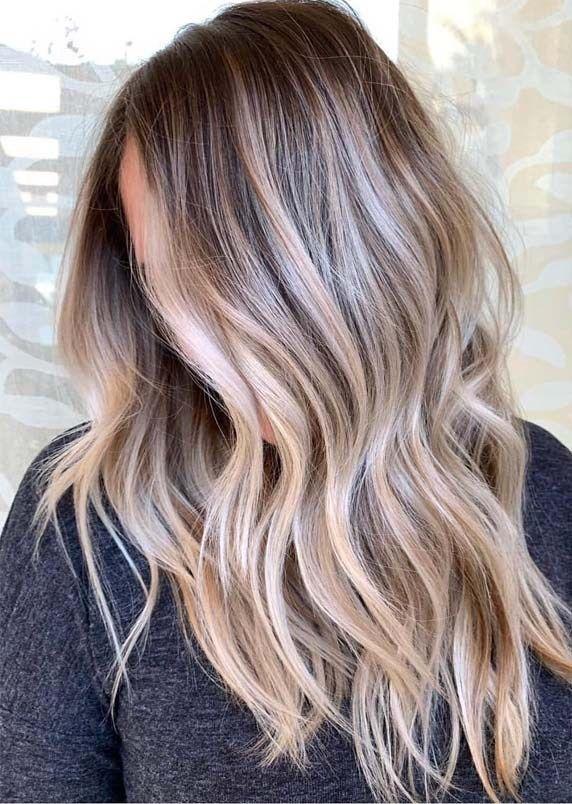 Atemberaubende Mischungen von Balayage Haarfarben zum Ausprobieren im Jahr 2019 …