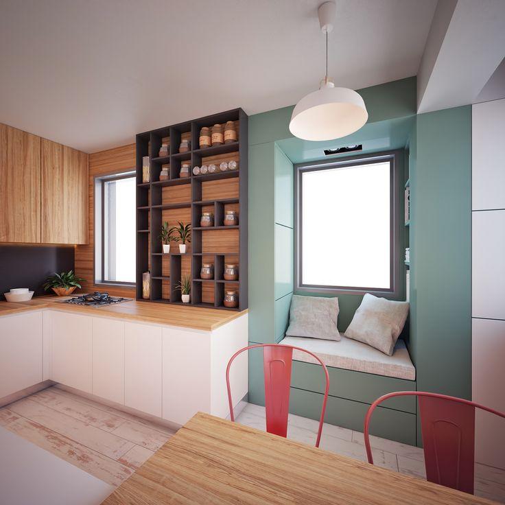 30m2 Apartment on Behance