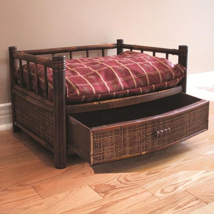 Diy Wood Dog Bed Plans Free Make Toy Chest For Dogs Pinterest Pet Beds And