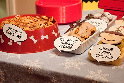 Peanuts themed party!