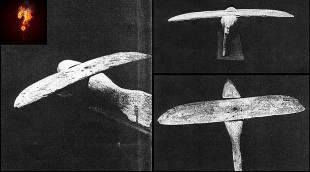 Modelos de naves espaciais são descobertos em túmulos egipcios - Sempre Questione
