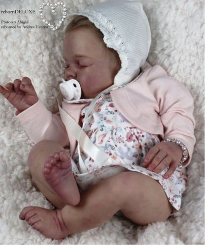 New-Reborn-Baby-Doll-Kit-ABIGAIL-By-Reva-Schick-LDC-Kits-21-034-New-Release