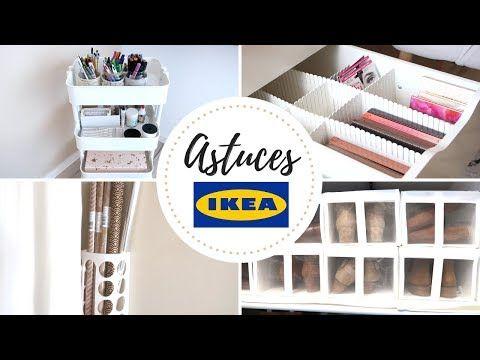 8 astuces de rangement spécial IKEA – YouTube