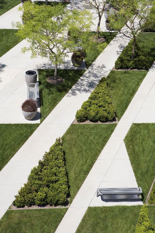 Toyota Motor Sales, USA, Inc., South Campus, Torrance, CA | Landscape Design: LPA, Inc. | Photo: Cris Costea